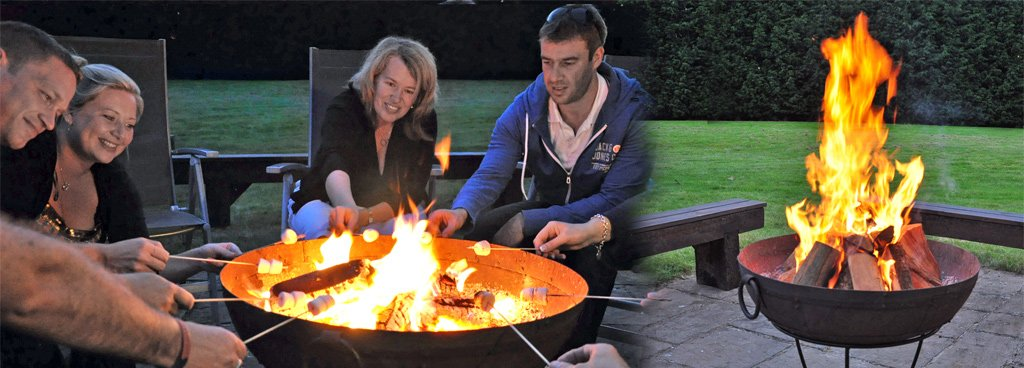 Hot for Summer, get the BBQ on with a Kadai and enjoy an open fire after