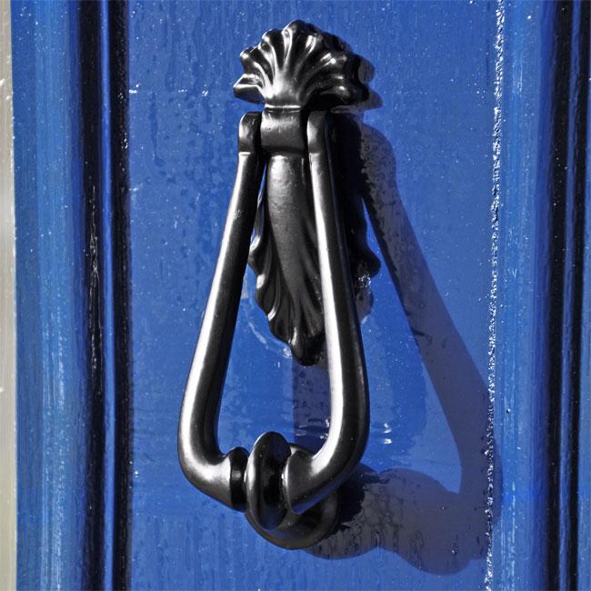 Tiny Teardrop Door Knocker Cast Iron Door Knockers Front