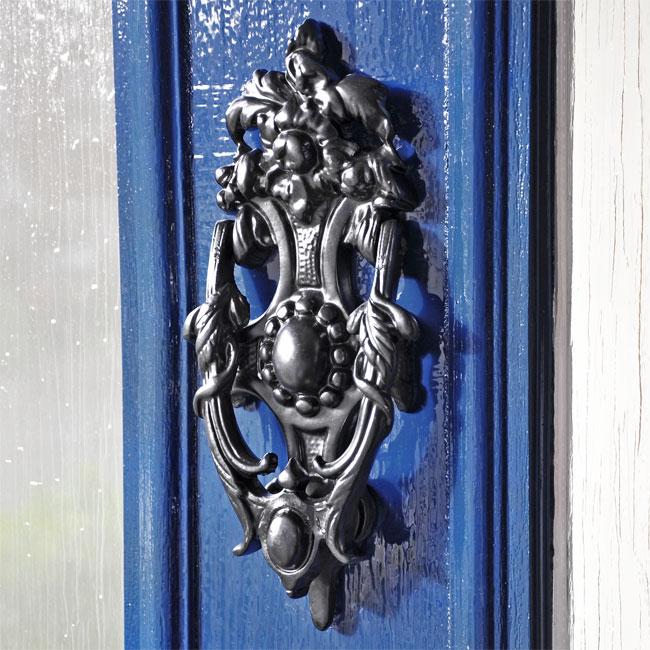 English Rose Door Knocker Cast Iron Door Knockers Front