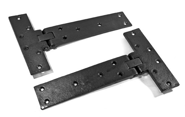 Kirkpatrick black iron trap door hinges 4509 Trap door hinges