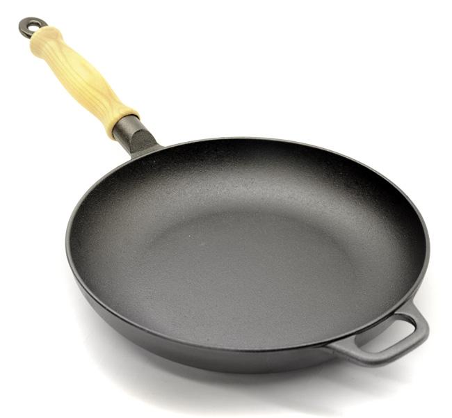 Gense cast iron frying pan cookware