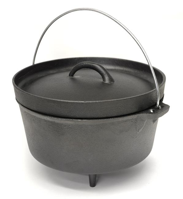 cast iron dutch oven cooking pot cast iron cookware. Black Bedroom Furniture Sets. Home Design Ideas