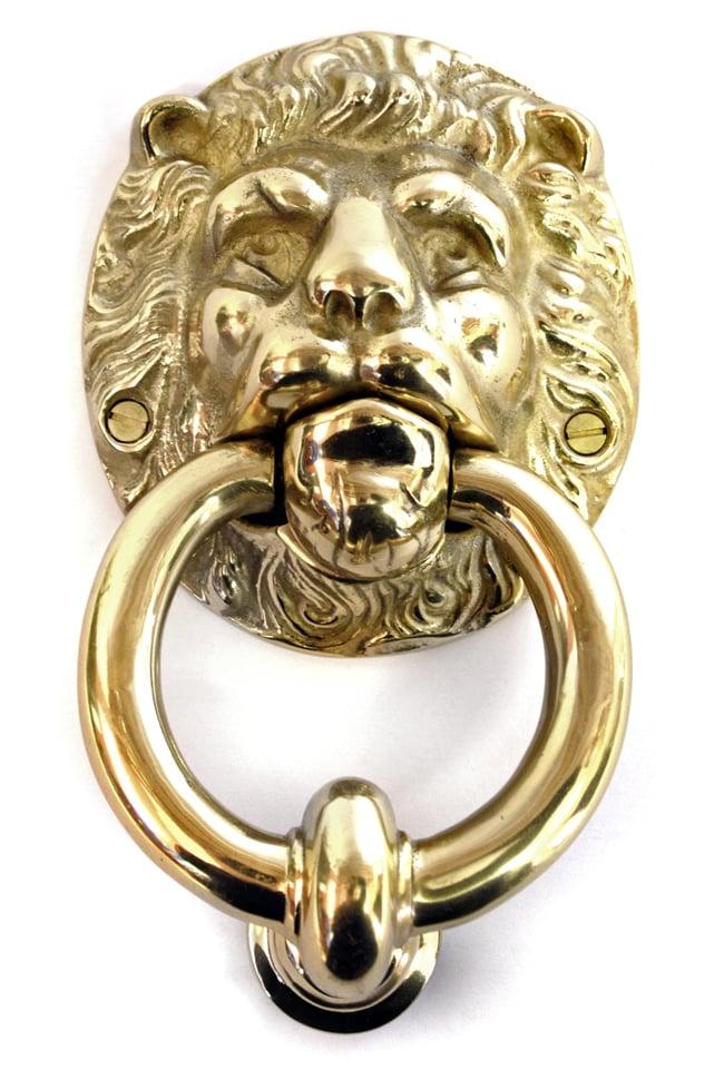 Brass lion head door knocker brass door knockers external brass door knockers cast in style - Lions head door knocker brass ...