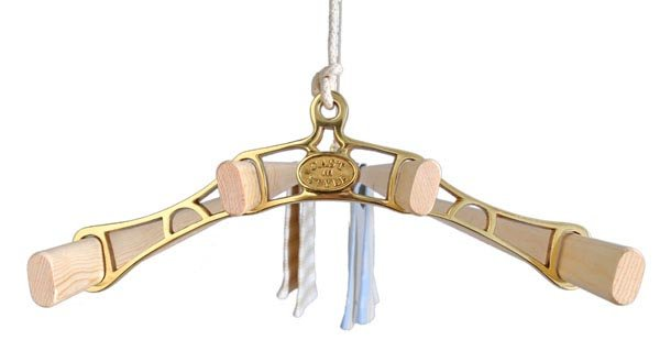 Victorian Brass pulley clothes airer