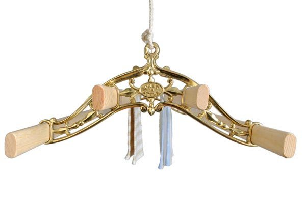 Classic Brass pulley clothes airer Victorian