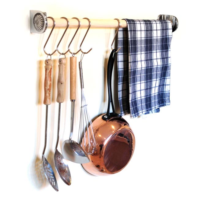 Chrome Utensil Rack