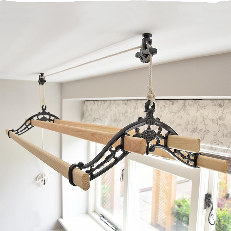 pulley clothes airer classic kitchen maid