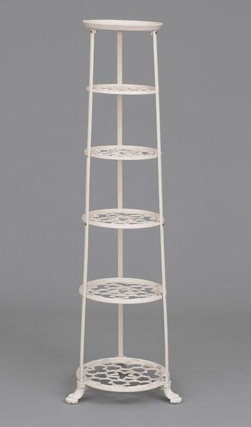 Six Tier Pan Stand Cast Iron Kitchenware