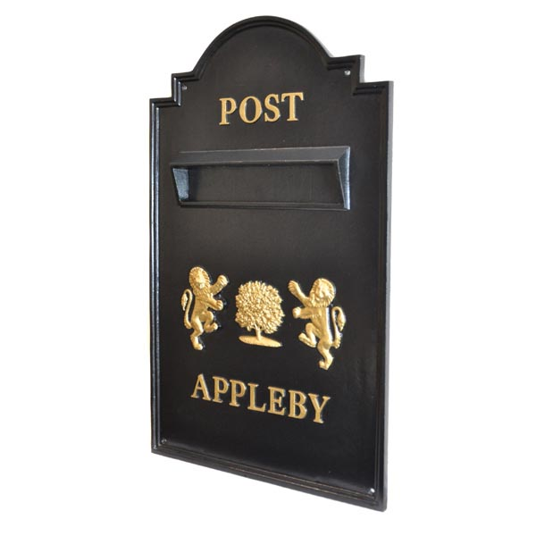 Bespoke Through The Wall Post Box The Derby
