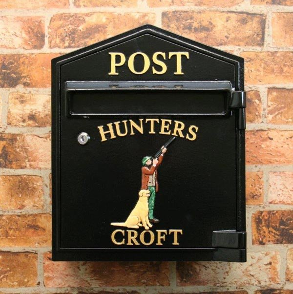 Traditional Slimline Postbox Design Your Own Custom Made