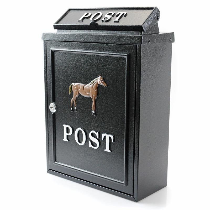 Horse Wall Mounted Post Box Through The Wall Post Boxes
