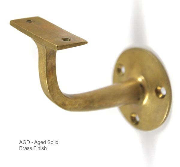 Croft Handrail Bracket 1766 Brass Nickel Chrome Bronze