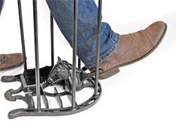 Horse Shoe Boot Scraper Boot Brush Amp Wellington Boot Rack