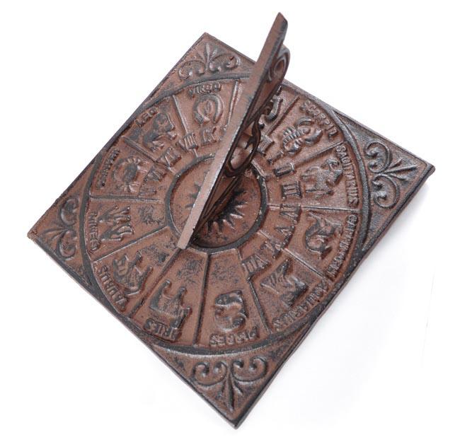 Cast Iron Sundial Wall Mounted Brass Sundials