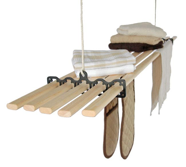 Pulley Clothes Dryer Clothes Airer Kitchen Maid Cast
