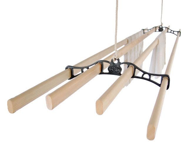 Pulley Clothes Airers Traditional Ceiling Clothes Airer