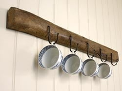Blacksmith Beeswax Cup Hook