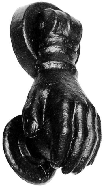 Kirkpatrick 1239 Hand Door Knocker