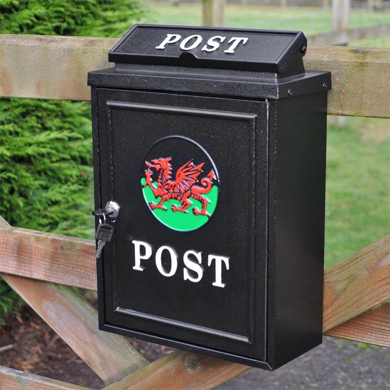 Fantastic Welsh Dragon Wall Mounted Post Box Wall Mounted Post Boxes Door Handles Collection Olytizonderlifede