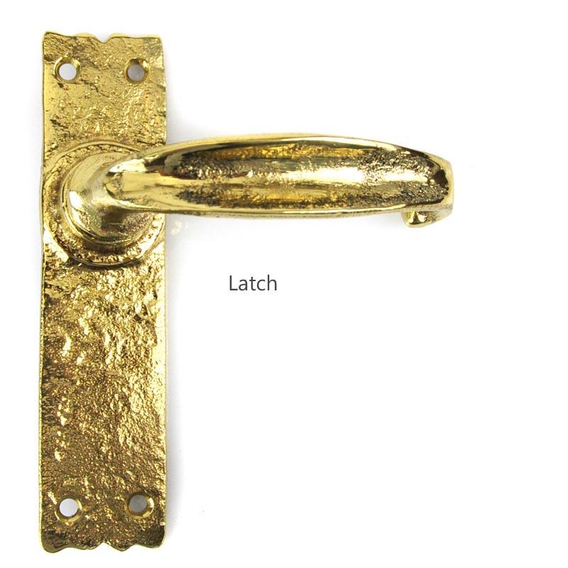 Kirkpatrick Brass Lever Door Handle 2455