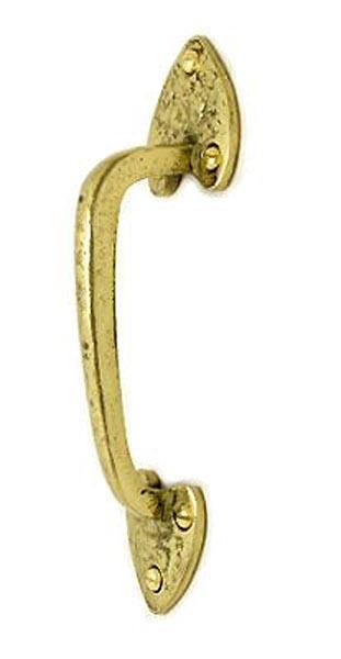 Kirkpatrick Brass Heart Door Pull Handle 3603b