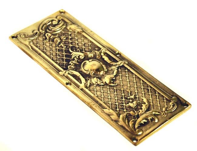 Brass Classical Finger Plate