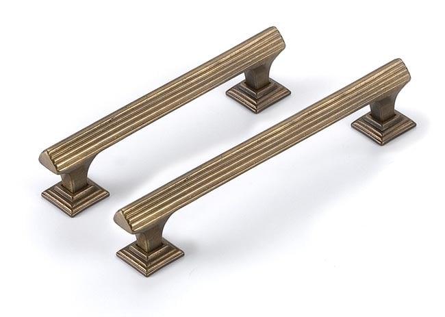 Antique Brass Harlech Pull Handle Brass Pull Handles