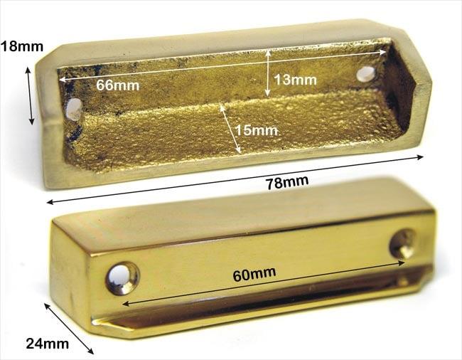 Brass Rim Lock Keep Number 1