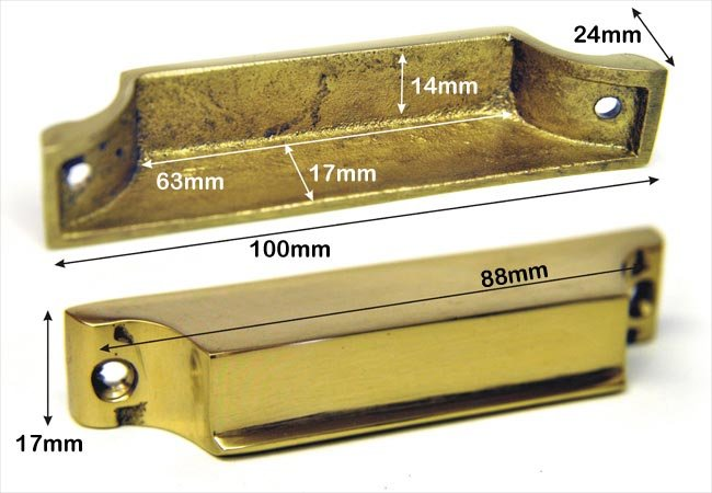 Brass Rim Lock Keep Number 4