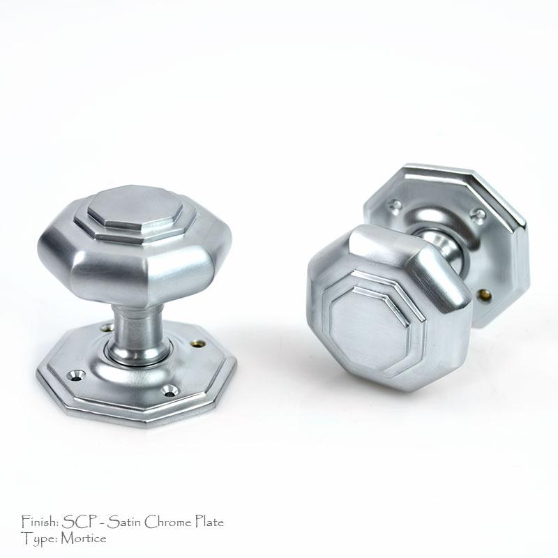 Croft 4180 Flat Octagon Door Knob