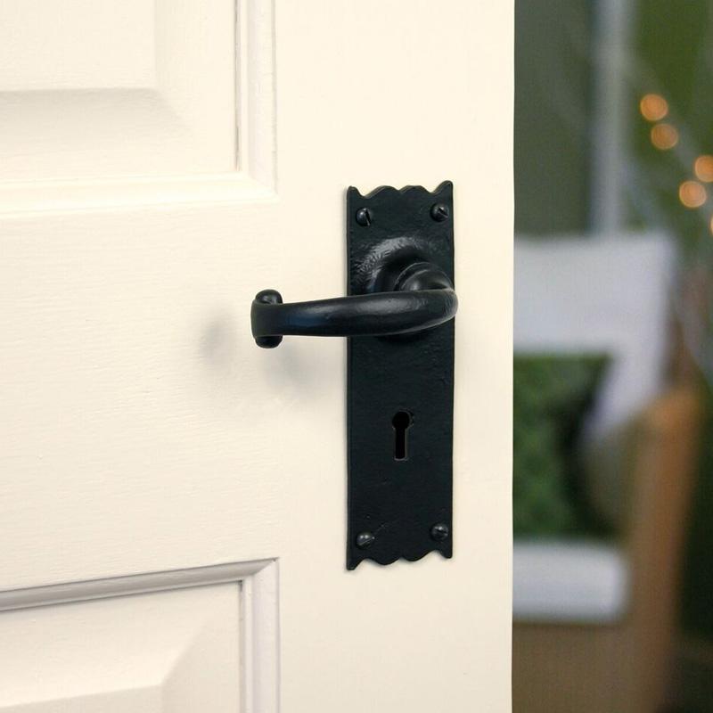 Traditional Blacksmith Cottage Lever Door Handle
