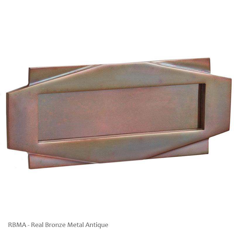 Croft 7014 Art Deco Letter Plate