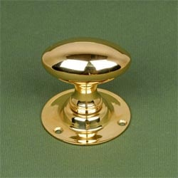 Brass Oval Door Knobs
