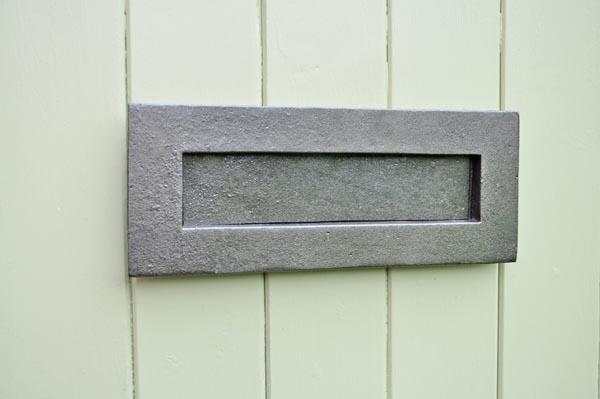 Kirkpatrick A6080 Letter Plate - Argent Finish