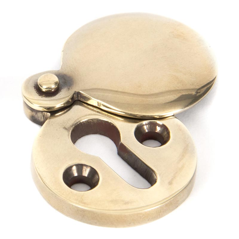 Stockists of Aged Brass Round Escutcheon