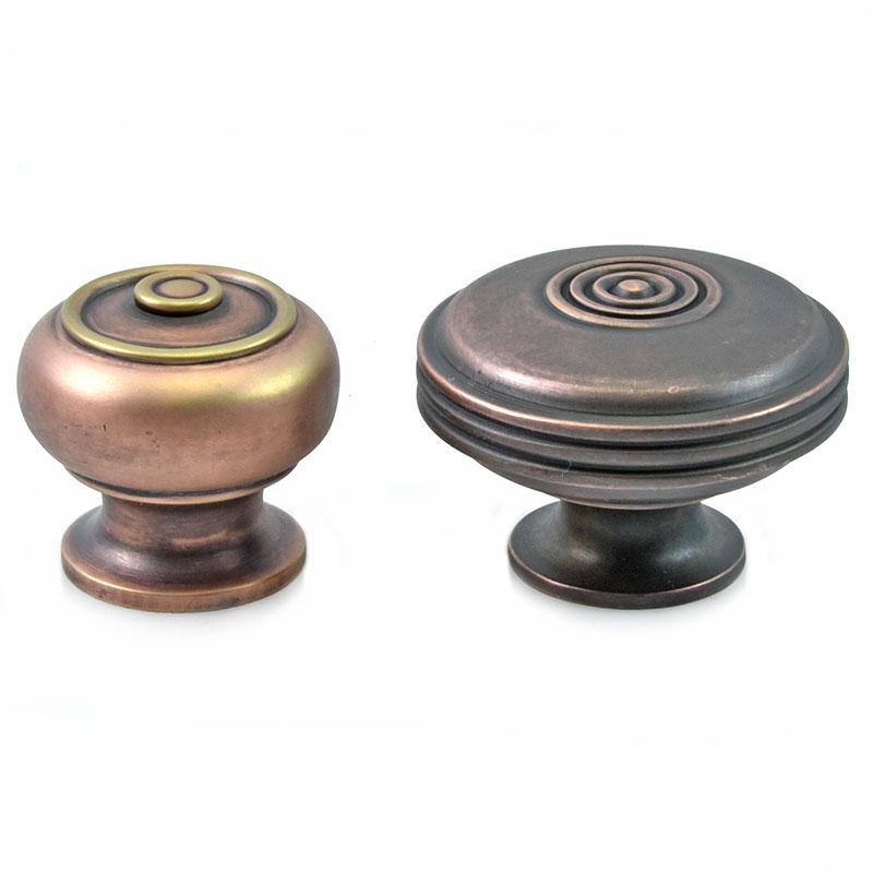 Bloxwich Cabinet Knob - Aged Bronze Finish