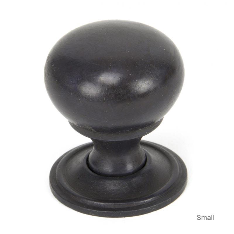 Aged Bronze Mushroom Cabinet Knob