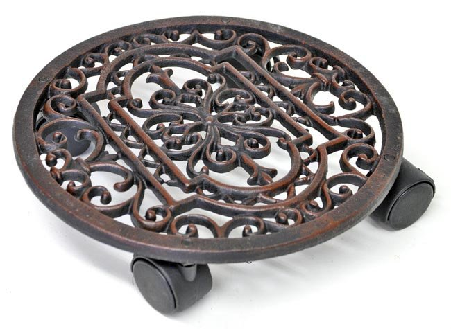 Cast Iron Plant Stand/Trolley