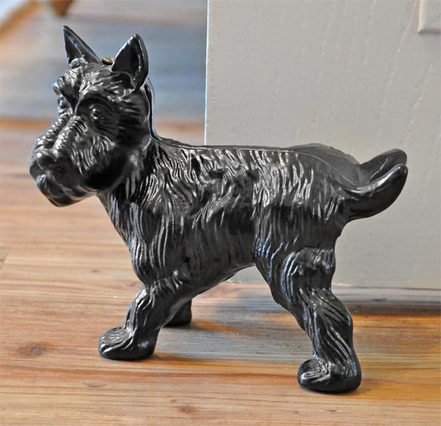 Scottie Dog Door Stop Cast Iron Door Stops And Wedges