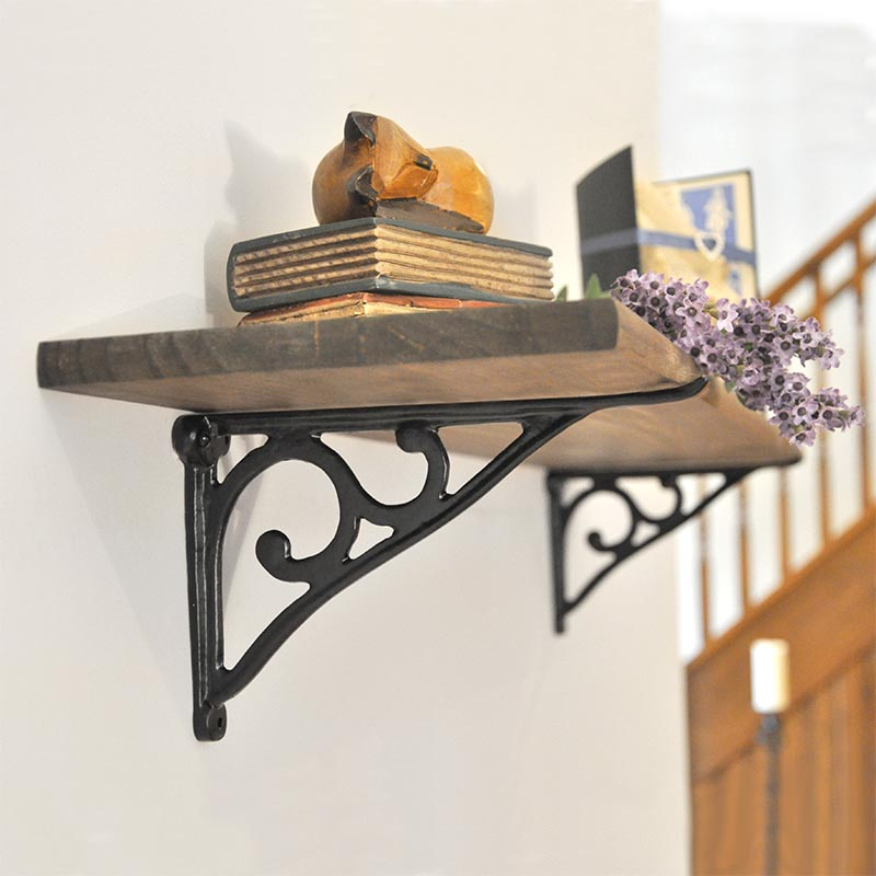 bracket made shelf crafted by handmade summerville industrial hand brackets steel custom summervilleduke