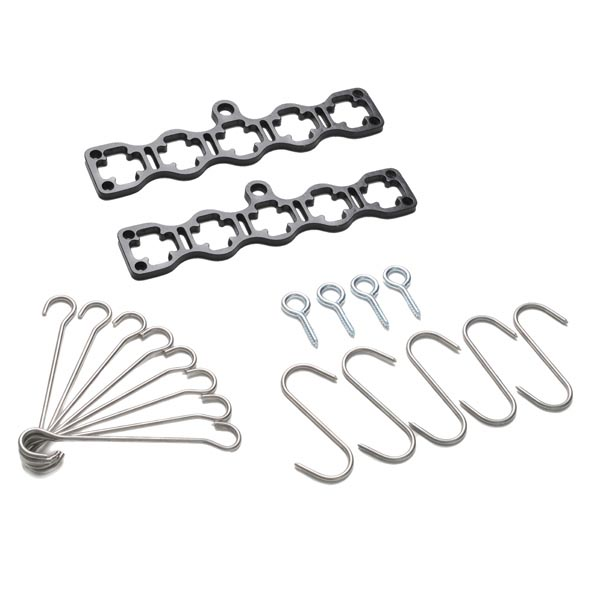 Stockists of 5 Lath Gismo Pot Rack kit without wooden laths