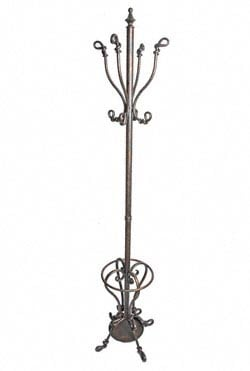 Iron Coat and Umbrella Stand