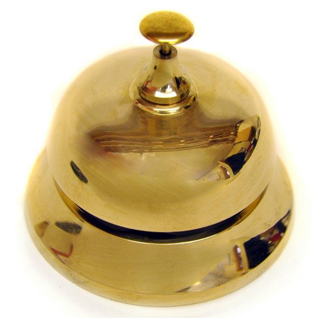 Brass Desk Bell Cast Iron Bells Brass Bells School Hand Bells Butler Bells Downton Abbey