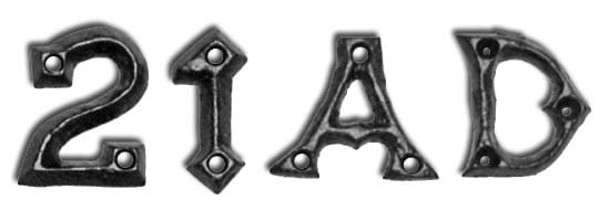 Kirkpatrick 1976 Gothic Letters / House Numbers