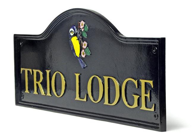 Home Accessories Knightsbridge Bespoke House Name Sign