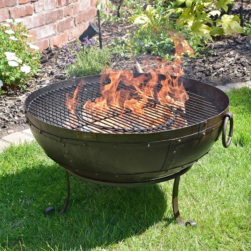 Kadai Fire Bowl Original Recycled Kadai Firebowl