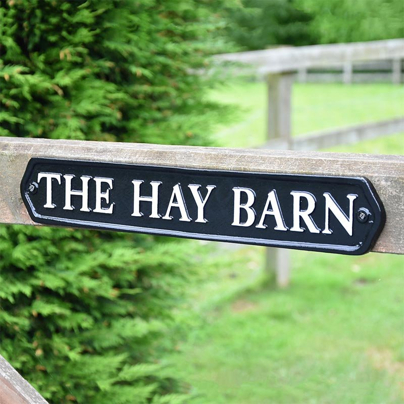 Bespoke Gate Sign Bespoke Gate Signs Cast In Style