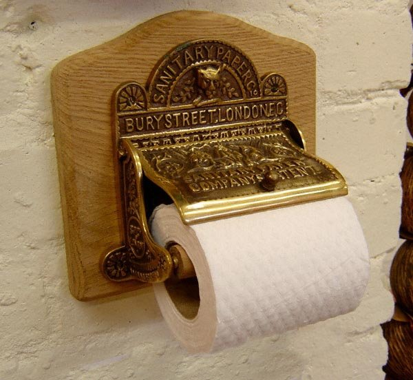 Sanitary Paper Co Toilet Roll Holder