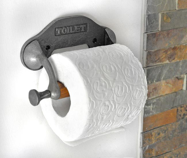 Rustic Toilet Roll Holder Toilet Roll Holders Cast In Style