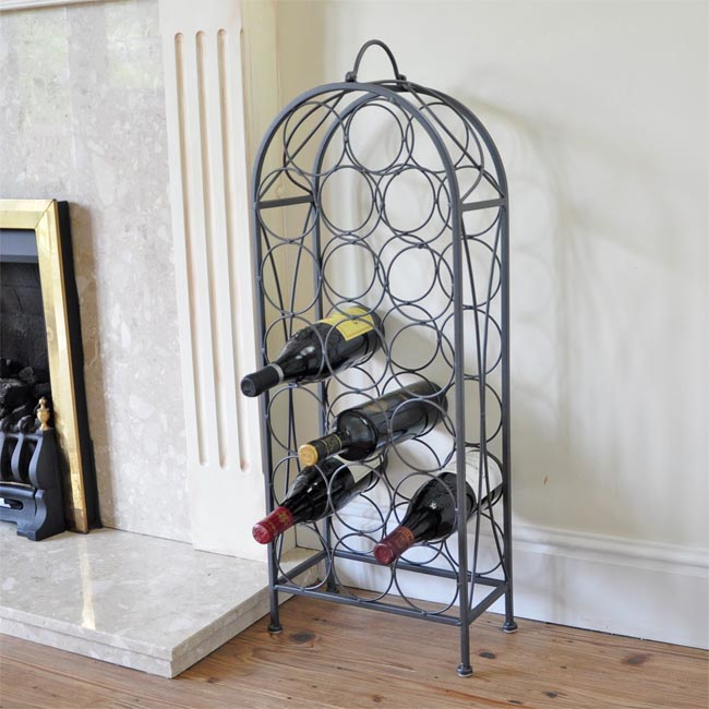 Stockists of 20 Bottle Wine Rack